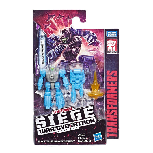 Transformers Generations War for Cybertron Siege Battlemaster Blowpipe