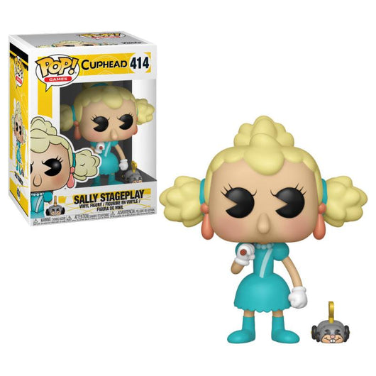 FUNKO POP CUPHEAD SALLY STAGEPLAY #414