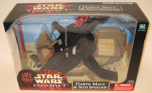 STAR WARS DARTH MAUL & SITH SPEEDER