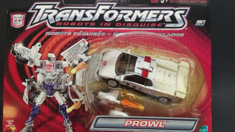 TRANSFORMERS R.I.D PROWL