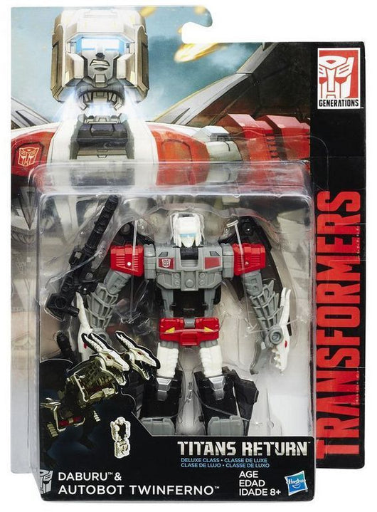TRANSFORMERS TITANS RETURN AUTOBOT TWINFERNO