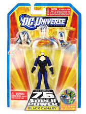 DC UNIVERSE BLACK CANARY WITH COLLECTOR BUTTON