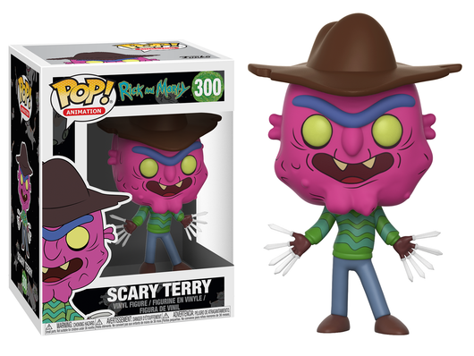 FUNKO POP RICK AND MORTY SCARY TERRY #300