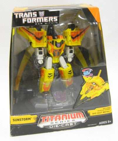 TRANSFORMERS TITANIUM SUNSTORM