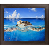 "Economy Framed Prints - ""Peace of the Tropics"""