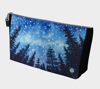 Sierra Stars ~ Camp~ Makeup / Travel Bag / Clutch, Camping Night Stars Art by © Christie Marie