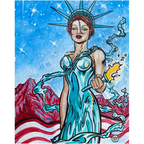 Lady Liberty - Fine Art Prints