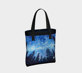 Sierra Stars ~ Camp, Tote Travel Bag, Camping Night Stars Art by artist © Christie Marie