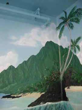 2009 Mountain Aloha Massage Mural