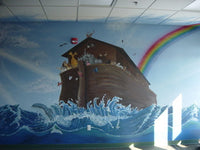 2007 Noah's Ark, St. Teresa of Avila, Carson City, NV mural