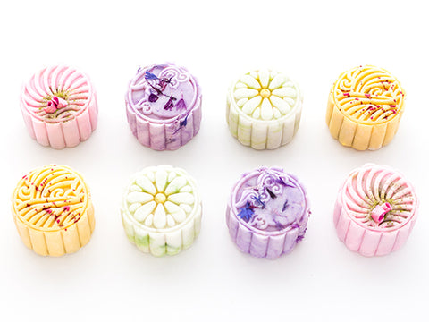 Set of 8 Mini Mooncakes
