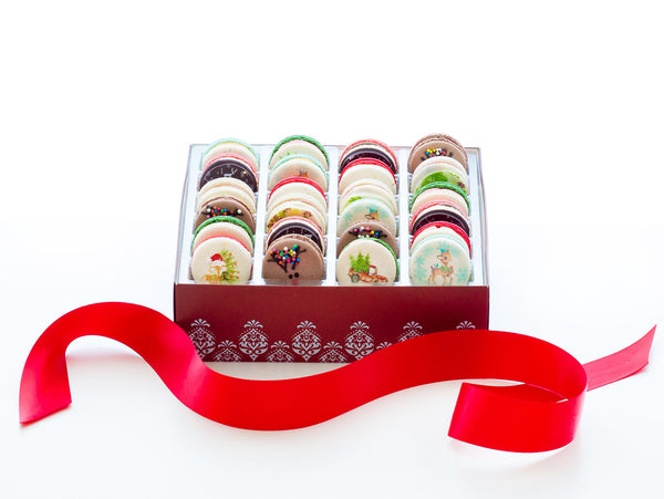Holiday Macarons - Box of 24