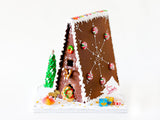 Scandinavian Gingerbread House