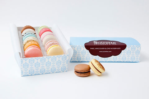 Assorted Macarons - Box of 12