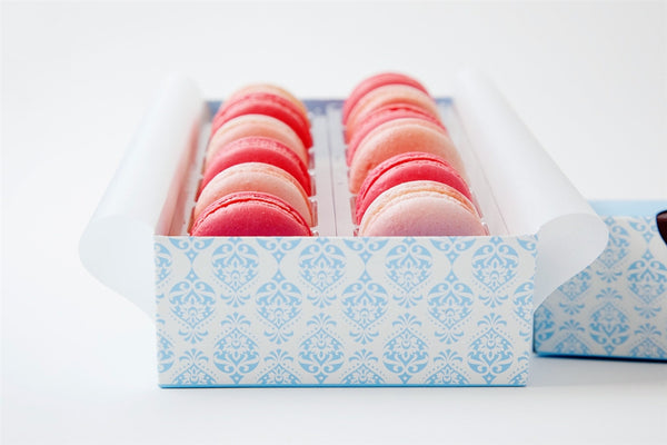 Pretty in Pink Macarons - Box of 12
