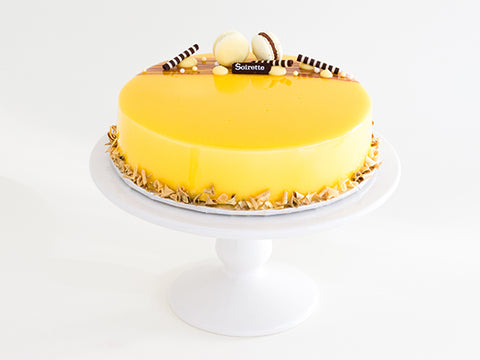 Passionfruit Chocolate Torte
