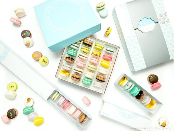 Assorted Box of Macarons