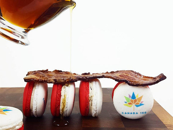Canada 150 Macarons - Box of 12