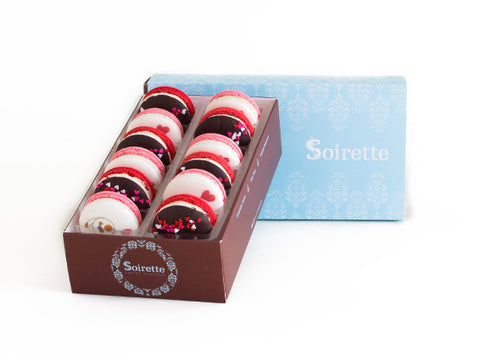 Valentine Macarons - Box of 12