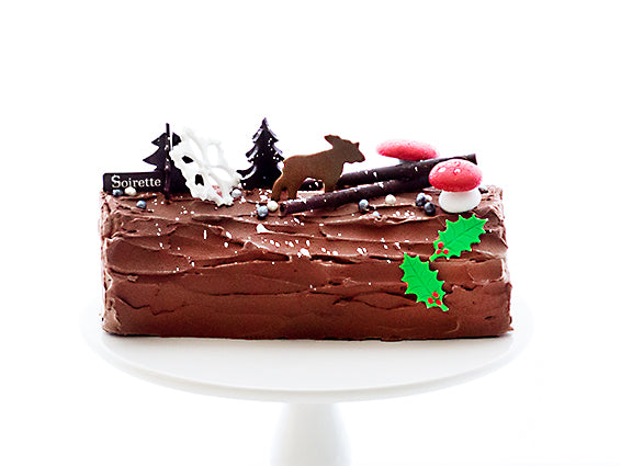 Passionfruit Yule Log