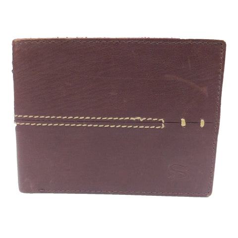 Stamp Leather Wallet LW 1086