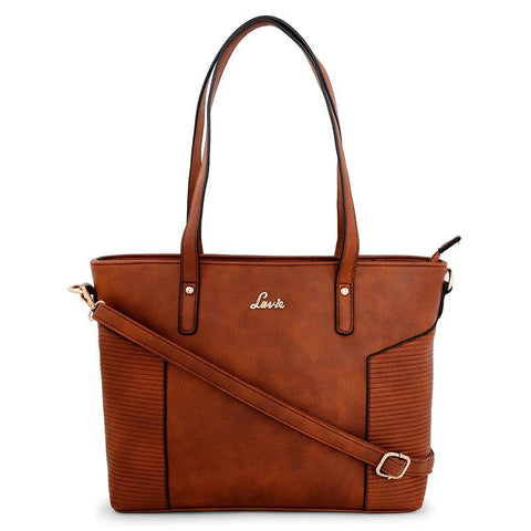 Lavie Ginkgo 1 Md Hz Tote Bag (Tan)