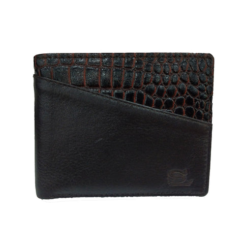 Stamp Leather Wallet LW 1023