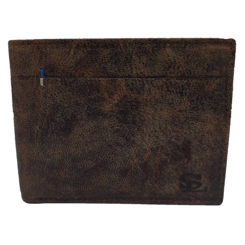 Stamp Leather Wallet LW 1042