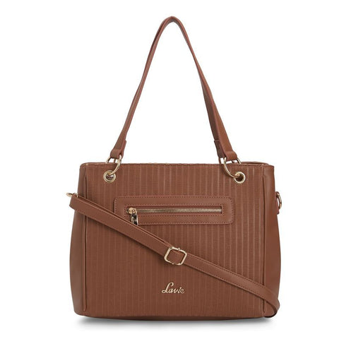 Lavie Jacopo Lg Satchel 2C Bag (Tan)