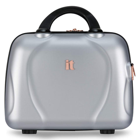It Luggage Sparkle Vanity Case (Silver)