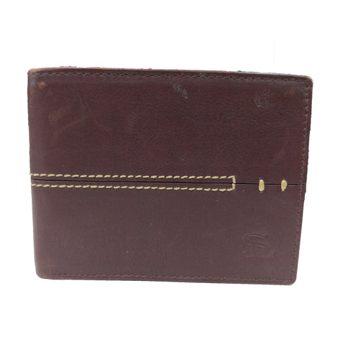 Stamp Leather Wallet LW 1007
