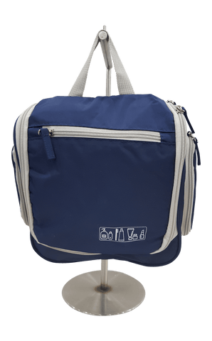 Bagpoint.in Toiletry Kit Flap-1 (Navy Blue)