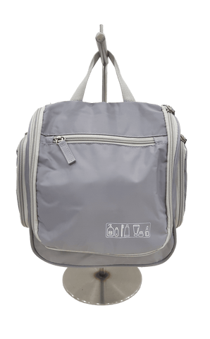Bagpoint.in Toiletry Kit Flap-1 (Grey)