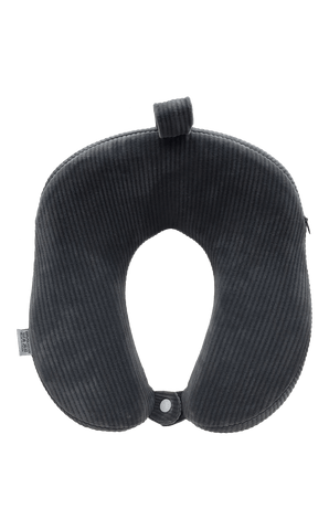 Bagpoint.in Memory Foam Pillow Ergo (Charcoal Black)