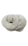 Bagpoint.in Soft Memory Foam Pillow round packing (Light Grey)