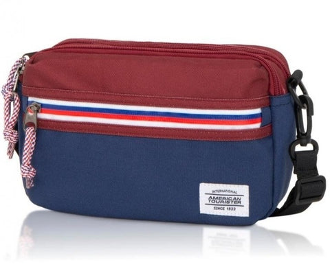 American Tourister Blake Utility bag  (Wine/Navy)