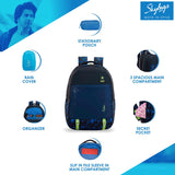 Skybags Astro Extra 02 (Blue)