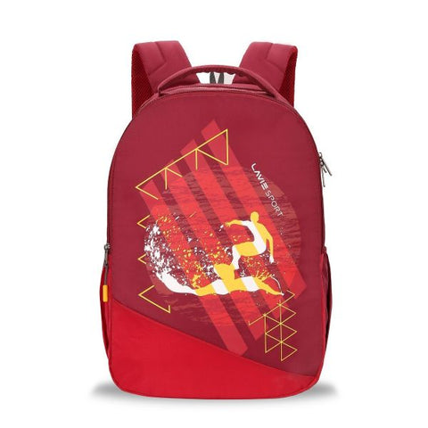 Lavie Wave Backpack (Maroon)