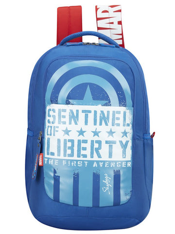 Skybags Marvel Extra 01 Captain America School backpack