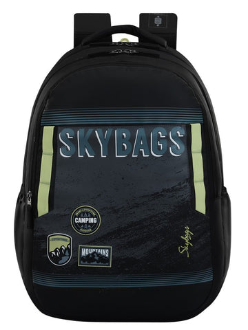 Skybags Astro extra grey School backpack