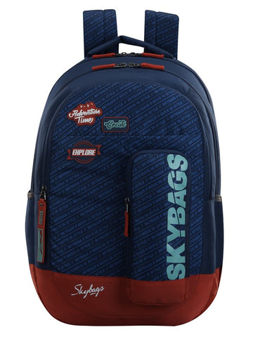 Skybags Astro Nxt 08 Blue School backpack