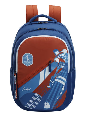 Skybags Astro Plus 04 Blue School backpack