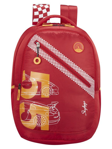 Skybags Astro 01 Red School backpack