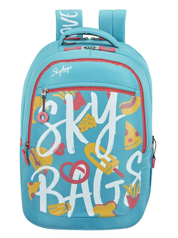 Skybags Astro 02 turquoise School backpack