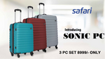 Safari Sonic PC (3 Piece Set)