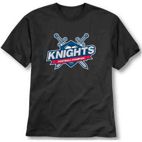 custom tshirt - Knight Printed T-Shirt - Bargain Original - BargainPk