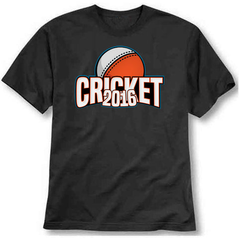 custom tshirt - Cricket 2016 Printed T-Shirt - Bargain Original - BargainPk