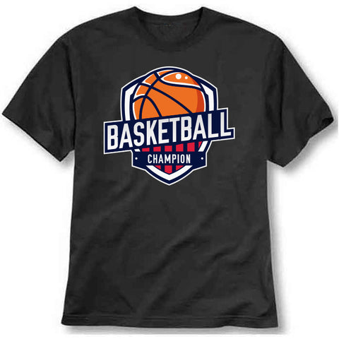 Basketball champion Printed T-Shirt - Bargain Original