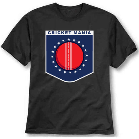 custom tshirt - Cricketmania  Printed T-Shirt - Bargain Original - BargainPk