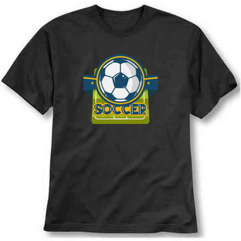 Soccer- Green Field Printed T-Shirt - Bargain Original